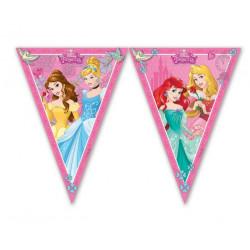 Guirlande fanions Princess Dreaming ™ 2.30m Déco festive LPRI85013