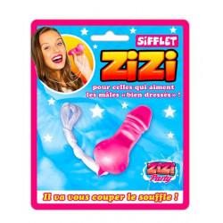 Sifflet humoristique Zizi spécial dames Divers CD4939