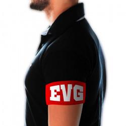 Brassard rouge EVG Accessoires de fête CD5067