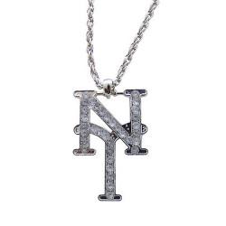 Collier NY métal argenté Accessoires de fête 10023