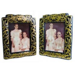 Cadre photo lenticulaire filles squelettes Déco festive 10039