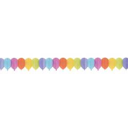 Guirlande papier ballons 3.60m Déco festive 10261CLOWN