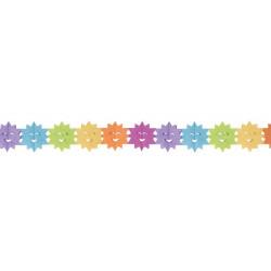 Guirlande papier soleil 3.60m Déco festive 10262CLOWN