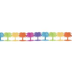 Guirlande papier palmier 3.60m Déco festive 10265