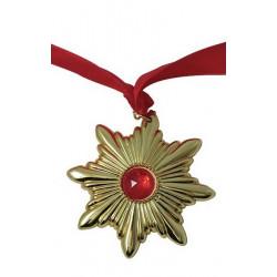 Collier Dracula avec ruban rouge Accessoires de fête 14760