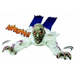 Zombie rampant, sonore et lumineux 1.80 m Déco festive 32515
