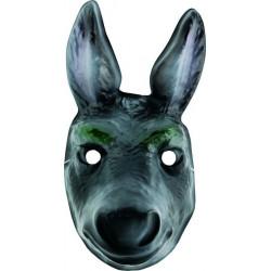 Masque plastique âne enfant Accessoires de fête 74267