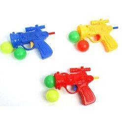 Pistolet bowling 10 cm avec 2 balles kermesse vendu par 24 Jouets et kermesse 24331-LOT