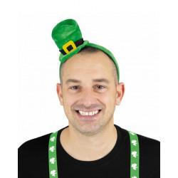 Mini chapeau vert Saint Patrick avec serre-tête Accessoires de fête 8651112
