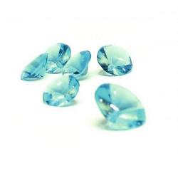 Diamants gélifiés comestibles x 20 bleu turquoise Cake Design P1286