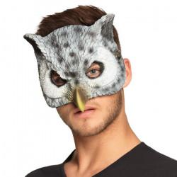 Demi-masque mousse hibou Accessoires de fête 56735