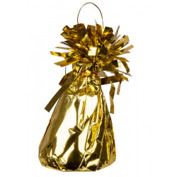 Poids pour ballon hélium Or 180 g Déco festive 22097