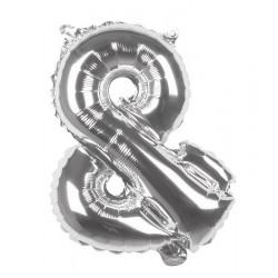 Ballon aluminium Argent 36 cm caractère et  Déco festive 22126