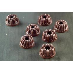 Moule silicone à chocolat fantaisie Silikomart Cake Design 22.119.77.0065