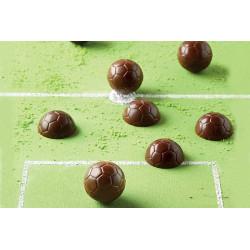 Moule silicone à chocolat ballon de foot Silikomart Cake Design 22.134.77.0065