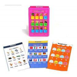 Jouets et kermesse, Jeu de cartes éducatives 17 cm vendu par 48, 24423-LOT, 0,40€