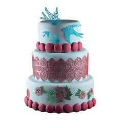 Tapis silicone pour dentelle en sucre Silikomart Cake Design 23.086.87.0069