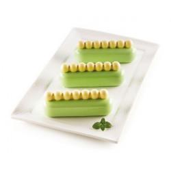 Kit moule silicone Chic Éclair Silikomart Cake Design 25.284.13.0065
