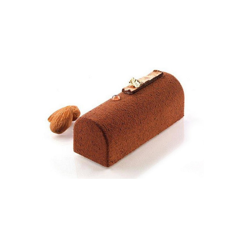 Moule silicone 9 Midi Bûche Silikomart Cake Design 26.130.00.0065