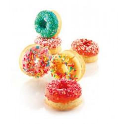 Moule silicone 15 Mini Donuts Silikomart Cake Design 26.171.44.0065