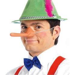 Nez long Pinocchio Accessoires de fête 2446