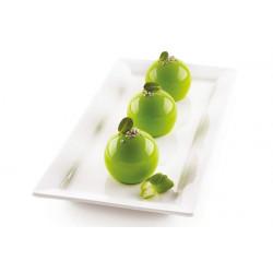 Moule silicone 8 truffes Dolce Tartufo Silikomart Cake Design 26.192.13.0065