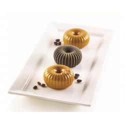 Moule silicone 3D 6 Mini Raggio Silikomart Cake Design 26.233.13.0065