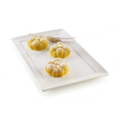 Moule silicone 3D 6 Bollicine Silikomart Cake Design 26.270.13.0065