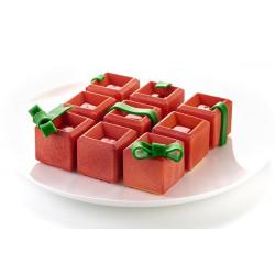 Moule silicone 3D 9 Mosaico Silikomart Cake Design 26.292.13.0065