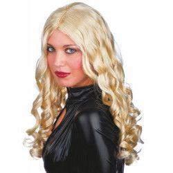 Perruque blonde longue femme Accessoires de fête 2450