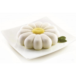 Moule silicone 3D marguerite Primavera Silikomart Cake Design 28.338.13.0065
