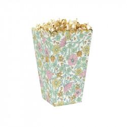 Boîte à pop-corn shabby et or x 8 Déco festive 913703