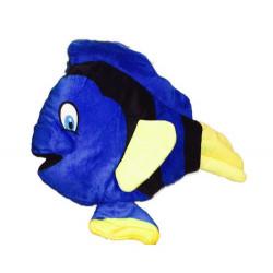 Peluche poisson bleu et jaune 30 cm Jouets et articles kermesse 3059
