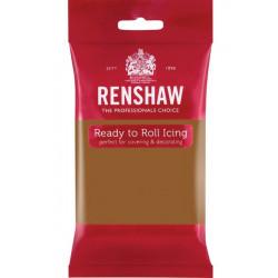 Pâte à sucre Pro Renshaw 250 g marron Teddy Bear Cake Design 02907
