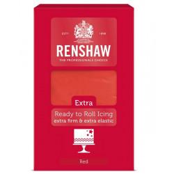 Pâte à sucre extra Renshaw 1 kg rouge Cake Design 02833