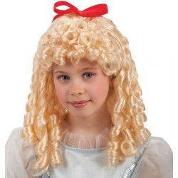 Accessoires de fête, Perruque blonde femme, 2474, 19,50€