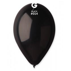 Sachet 50 ballons diamètre 30 cm noir ébène Déco festive 111408