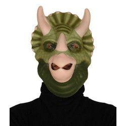Masque de triceratops Accessoires de fête 2478