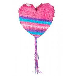 Pinata coeur rose à tirer Déco festive 30938