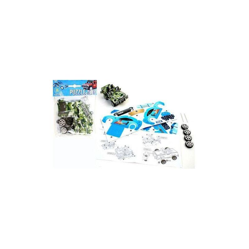 Puzzle voiture 21 pièces vendu par 48 unités 3588270024782