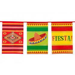 Guirlande fanions mexicaine Fiesta 10 m Déco festive 54401