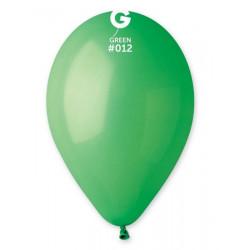 Sachet 12 ballons standard 30 cm vert Déco festive 300543