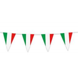 Guirlande fanions drapeau Italie 10 m Déco festive 62102