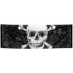 Bannière polyester pirate 220 cm Déco festive 74109