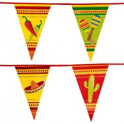 Guirlande fanions mexicains Fiesta 6 m Déco festive 54400