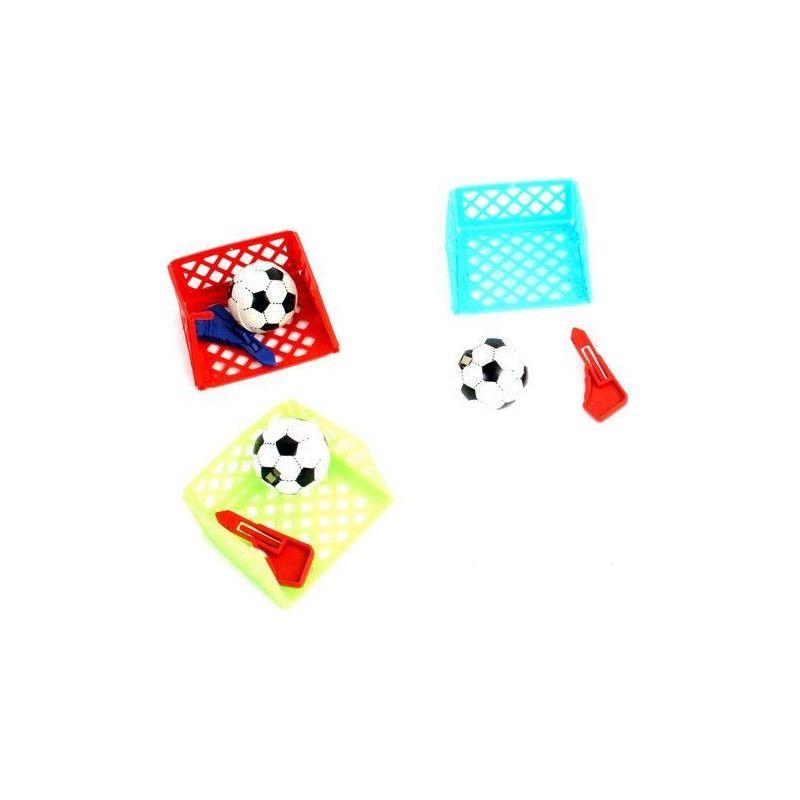 Jeu de foot avec cage et lanceur kermesse vendu par 48 Jouets et articles kermesse 24836-LOT