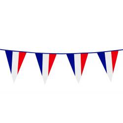 Guirlande fanions drapeau France 10 m Déco festive 62039