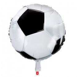Ballon aluminium football 45 cm Déco festive 62516