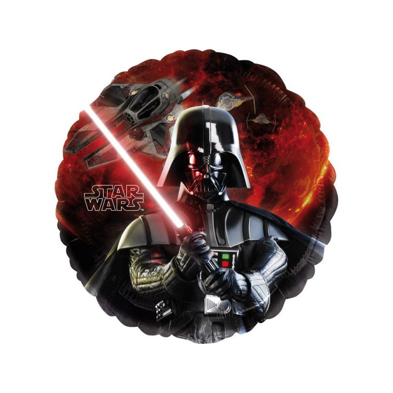 Ballon alu rond Star Wars™ 43 cm Déco festive 2568501