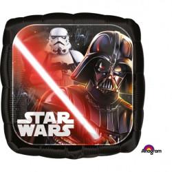 Ballon alu carré Star Wars Classic™ 43 cm Déco festive 3552101